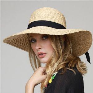 Natural Panama Hat French raffia straw beach